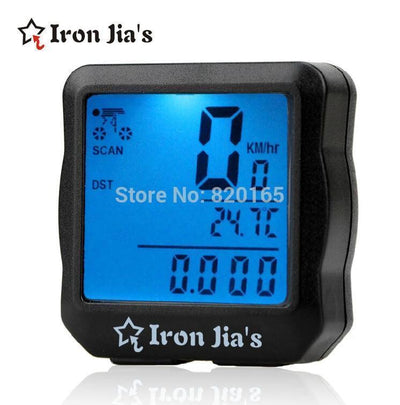 Cycling Gears Waterproof Digital Backlight Bicycle - Odometer Speedometer Clock Stopwatch