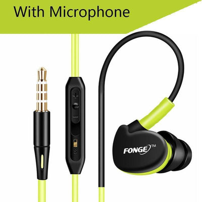 Earphones Sweat and Waterproof Running Earphones