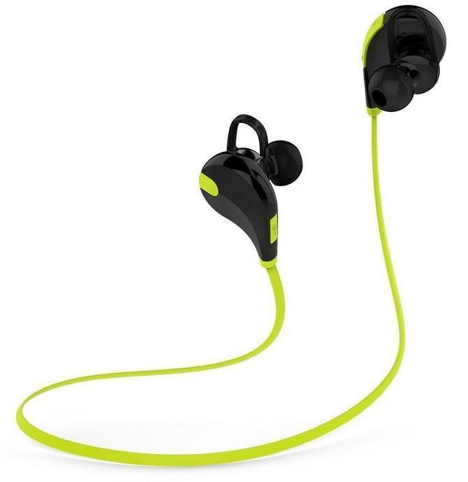 Earphones Wireless Bluetooth 4.1 Stereo Fashion Sport Running Headphone with Microphone