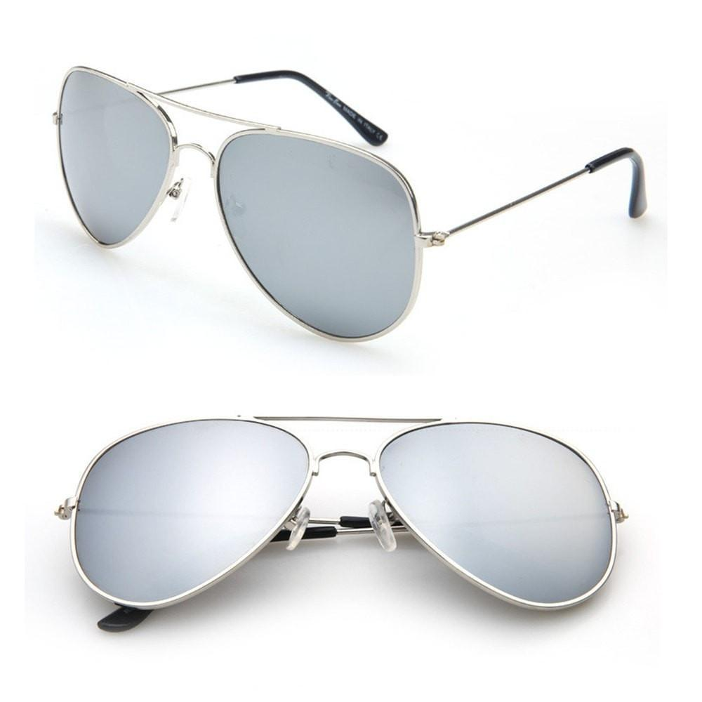 Aviator Mirrored UV Protection Sunglasses