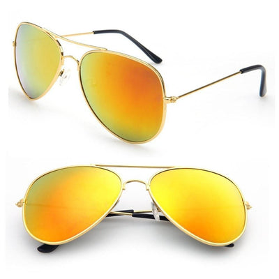 Eyewear Aviator Mirrored UV Protection Sunglasses