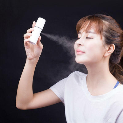 Facial Steamers Portable Face Spray Bottle Nano Mister Facial Hair Steamer Ultrasonic Face Sprayer