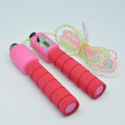Fitness Gears Adjustable Skipping Jumping High Speed Rope With Counter Number