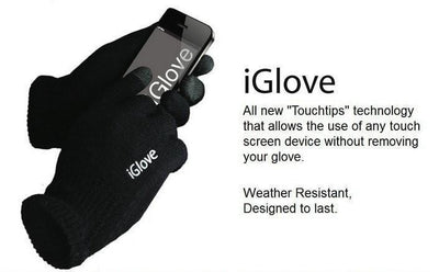 Fitness Gears iGlove Winter Knitted Phone Touch Screen Outdoor Gloves