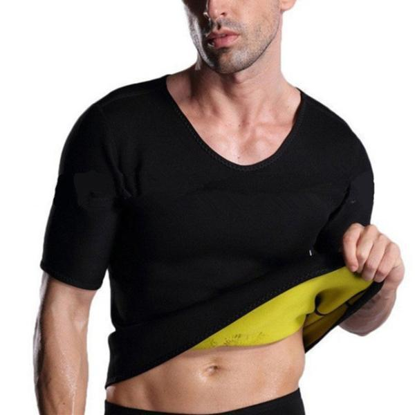 Men Super Sweat Slimming Neoprene Shapers
