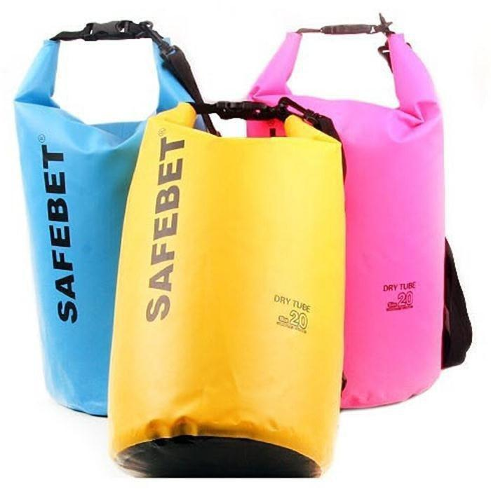 Fitness Gears Waterproof Dry Bag Diving Travel 5-10-20 L