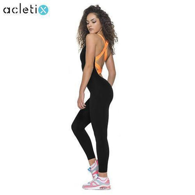 Jumpsuits Fitness Jumpsuits Flashy Colour Bands