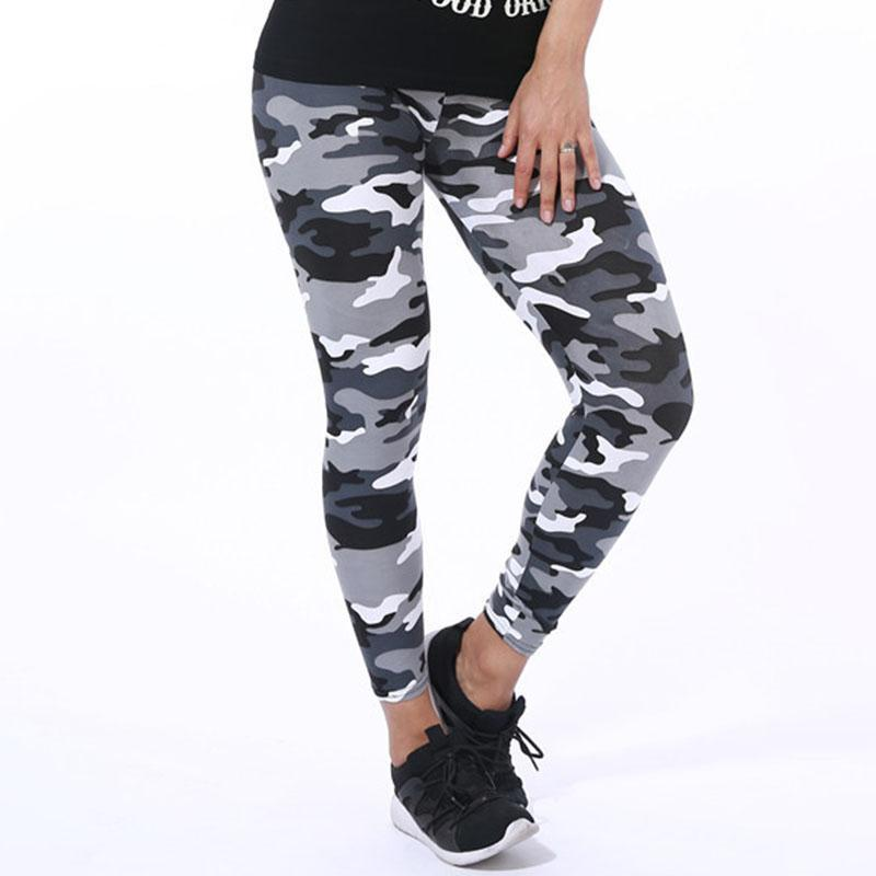 Army Camo Women Workout Leggings