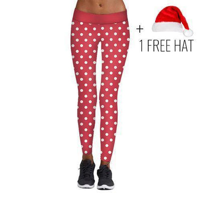 Leggings Christmas Fitness Party Leggings