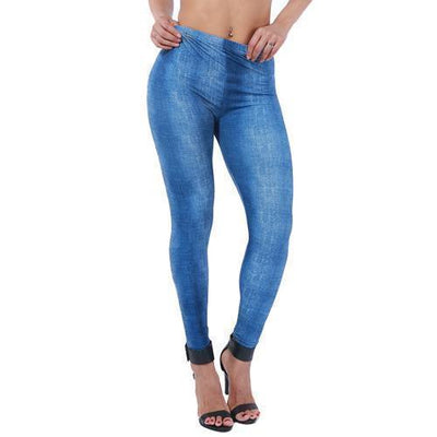 Leggings Elastic Fit Denim style Leggings