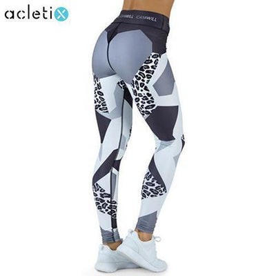 Leggings Jaguar Patchwork Jaguar Fitness Leggings