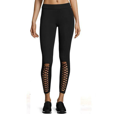 Leggings Rebel Black Quick Drying Fitness Leggings