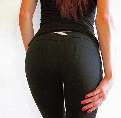 Leggings Sexy Push Up Fitness Leggings With Jeans Style