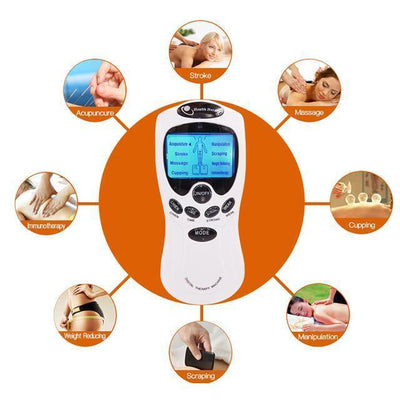 Massage & Relaxation Mini Electric Pulse Muscle Stimulator