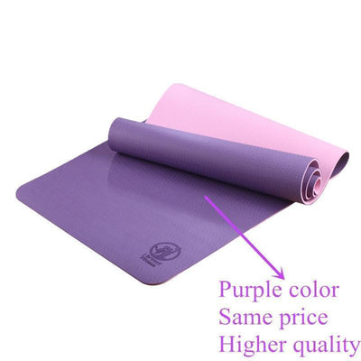 Mat Fitness Yoga Gymnastics Pilates Mat