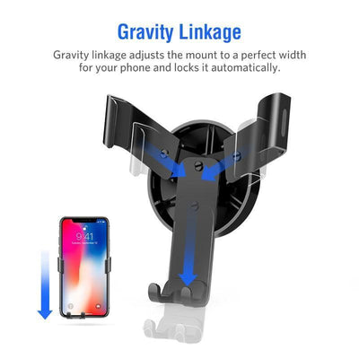 Mobile Phone Holders & Stands Car Holder for iPhone  Gravity Reaction Air Vent Mount Phone Holder