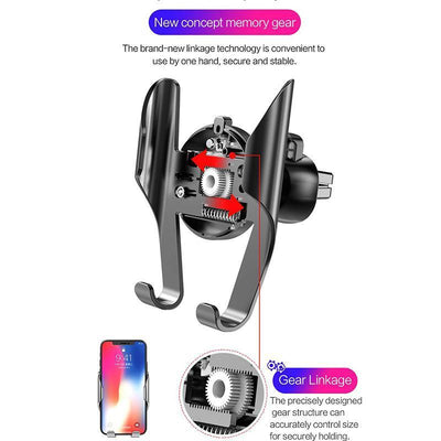 Mobile Phone Holders & Stands Car Phone Holder Universal in Car Holder Stand Air Vent Mount Clip Cell Mobile Phone Holder