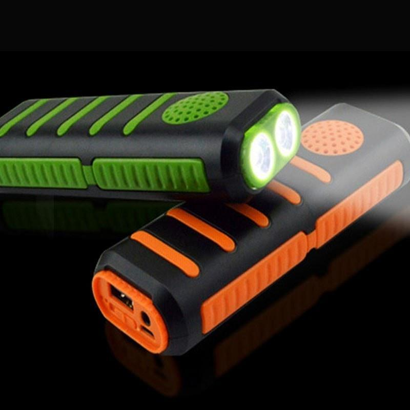 Outdoor Equipment 3 in 1 Power Bank + Bluetooth Speaker + Flashlight