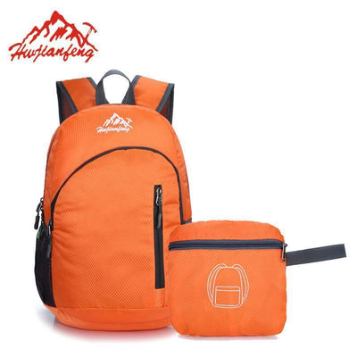 Outdoor Equipment Outdoor Lightweight Backpack - Foldable with zipper