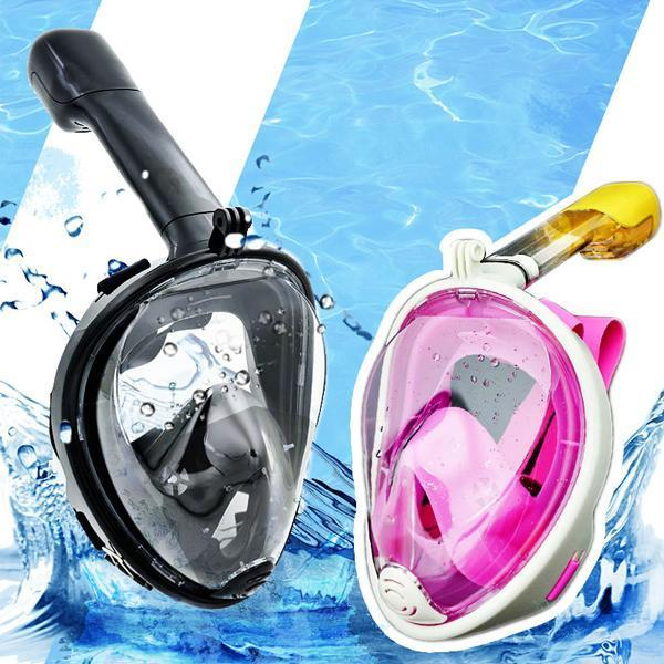 Outdoor Equipment Panoramic Full Face Scuba Diving Mask Anti Fog