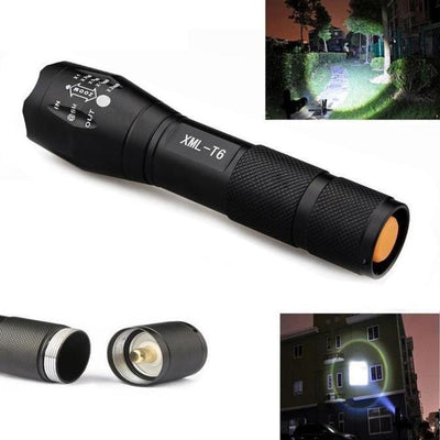 Outdoor Equipment Worlds Brightest Military Tactical LED Flashlight