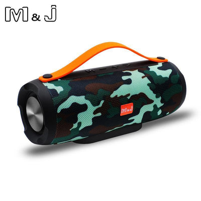 Portable Speakers Bluetooth Speaker Wireless Portable Stereo Sound Deep Bass 10W System MP3 Music Audio With Mic For Android iphone Pc