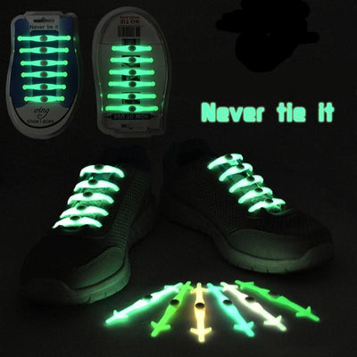 Shoe Accessories Never Tie Luminous Shoe Laces