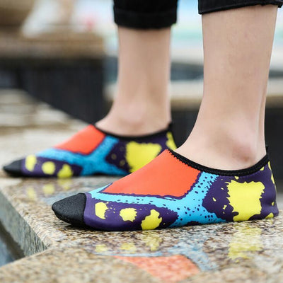 Shoes Printed Skin Water Slipper