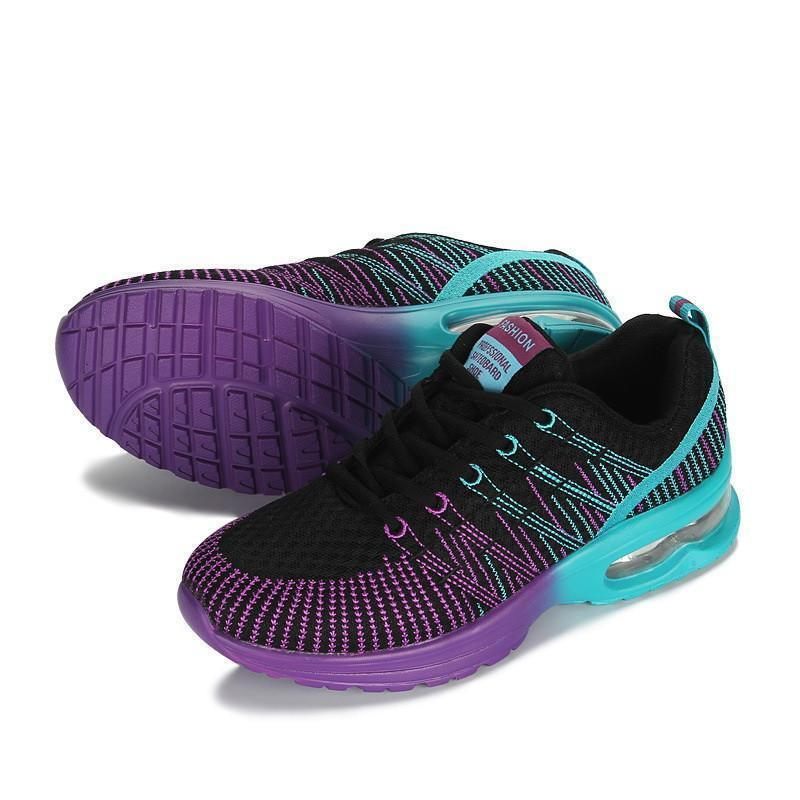 Women Air-cushion Colorful Running Shoes