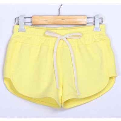 Shorts Fashion Women Casual Summer Sports Shorts - Leisure Elastic Waist