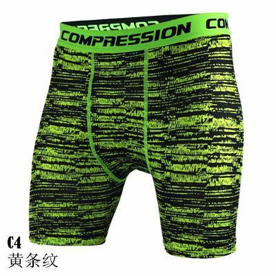 Shorts Quick Dry Compression Tights Running Short Pants Gym Sport Leggings Crossfit Men Biker  Shorts