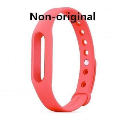 Colorful Silicone Interchangeable Band for Xiaomi Smart Bracelet - Bodeaz.com