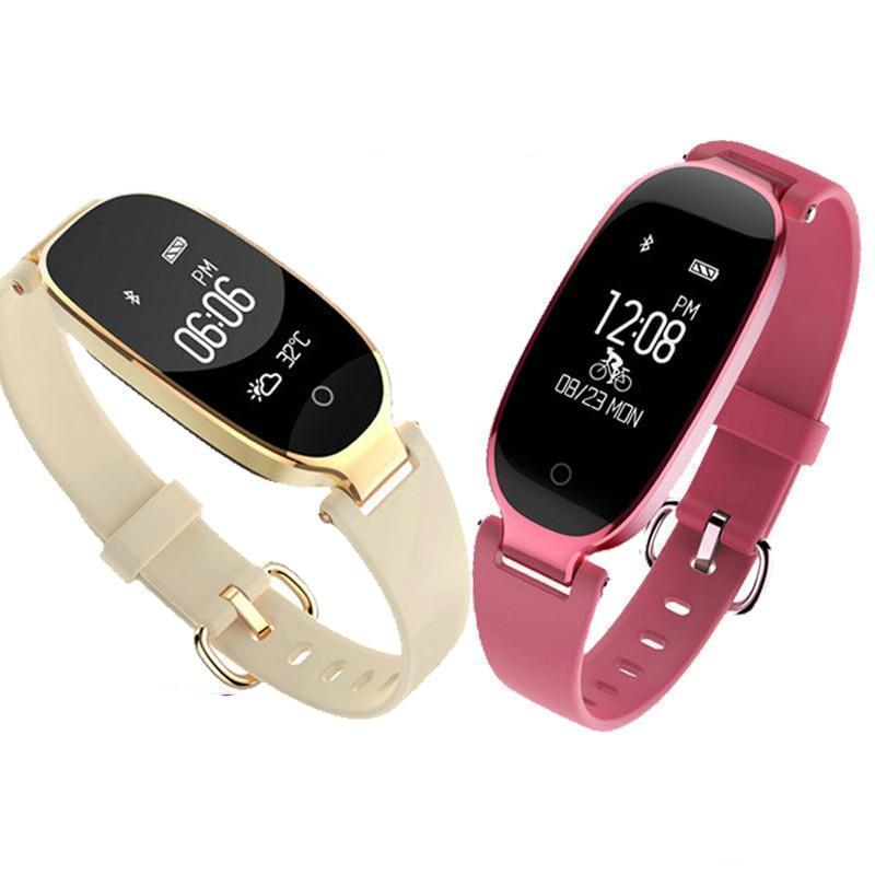 Fashion Smart Band Bracelet Girl Women Heart Rate Monitor Wrist Smart band Lady Female Fitness Tracker Wristband