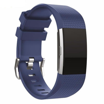 Silicone Bracelet Strap with bukle For Fitbit Charge 2 - Bodeaz.com