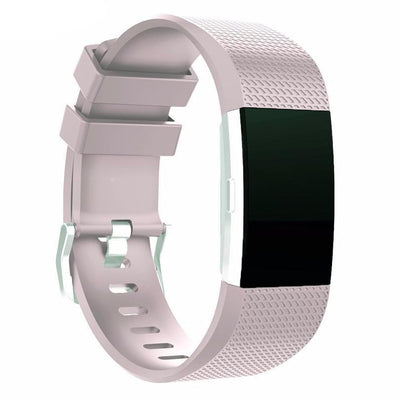 Smartbands Silicone Bracelet Strap with bukle For Fitbit Charge 2