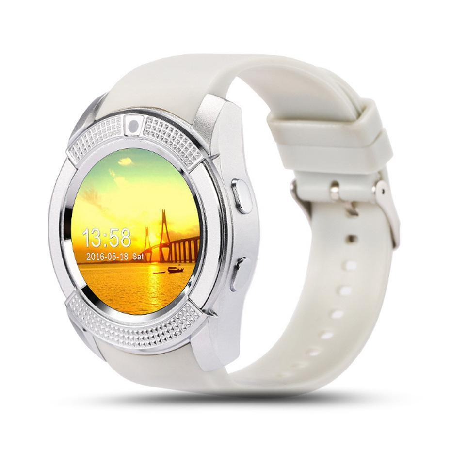 Smartwatches Smart Watch Phone For Android V8 Bluetooth Waterproof Insert SIM Card