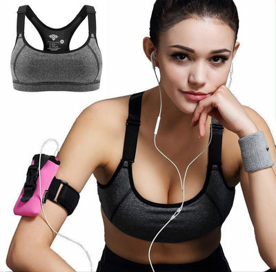 Sports Bras New Women Sports Bra For Running - Padded WireFree Seamless Shakeproof Push Up