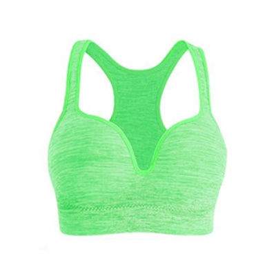 Sports Bras Sexy Deep Cleavage Push up Padded Sport Bra