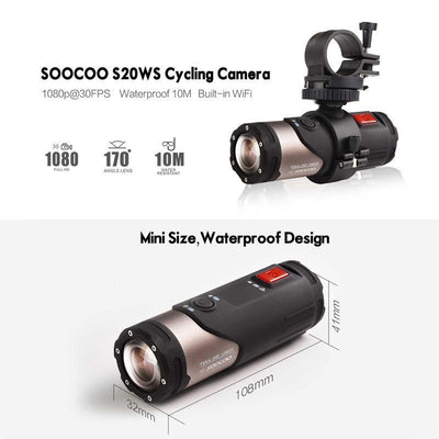 Sports Camera Mini Camcorder Action Camera 170 Degree Wide Lens Camera 10m Wateproof
