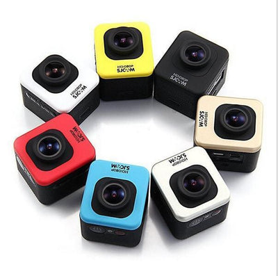 Sports Camera ProCam Cube 1080P Full HD Extreme Sport Action Camera - 12 MP - 1.5 Inch Screen - 170 Degree Lens - By Epiktec