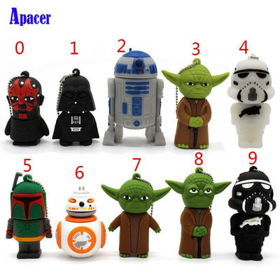 USB Flash Drives Cartoon Pen drive Star wars darth vader 4GB 8GB 16GB 32GB 64GB  usb flash drive
