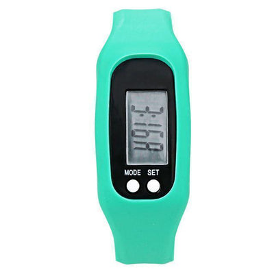 Watches Digital LCD Pedometer Watch