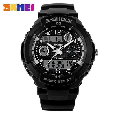 Watches SKMEI Men Military Analog-Digital Sports Watch - Water/Shock Resistant