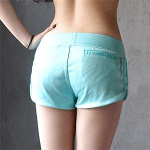 Women Sports Clothing Elastic Waist Jogging Fitness Short