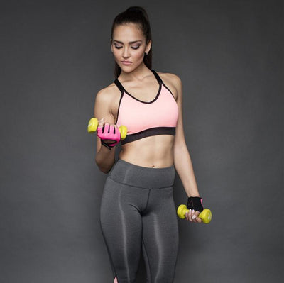 Women Sports Clothing Women's Sports Clothes Set - Bra Top + Elastic Leggings