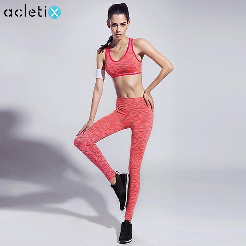 Women Sports Clothing Women Slim Ultra-Soft Feel Fitness Outfit - Casual Sports Bra + Quick-Dry legging