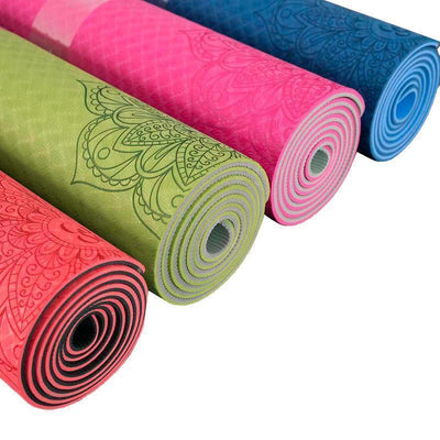 Yoga Mat Mandala Eco-Friendly Yoga Mat