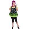 Punk 80's Rocker Plus Size