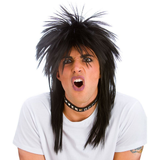 80s Metal Rock Star Wig