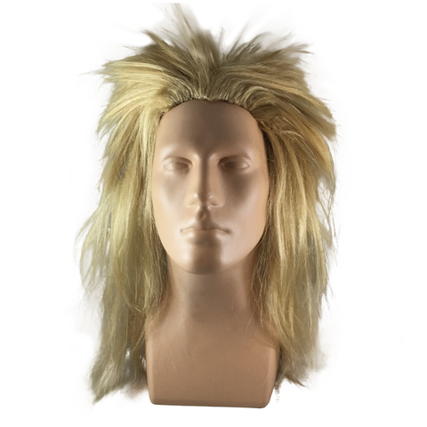 Blond Spike Rock Wig